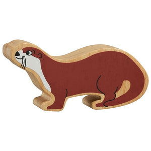 Natural Wooden Brown Otter