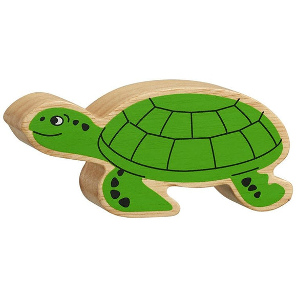 Natural Wooden Turtle