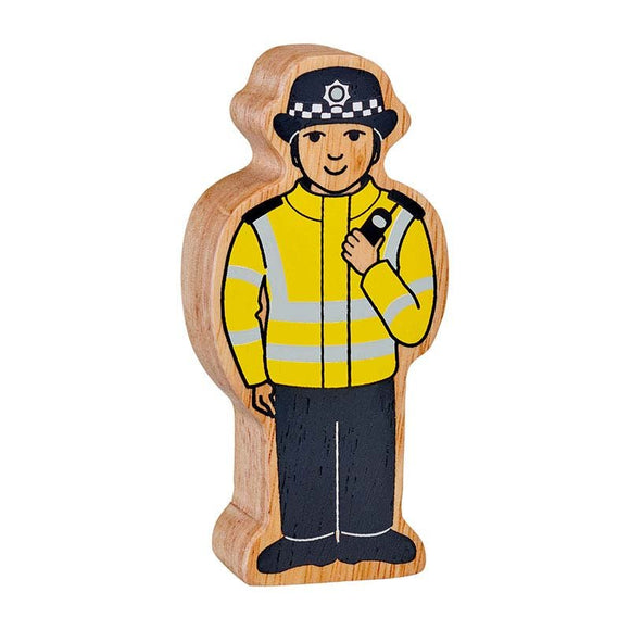 Natural Wooden Policewomen