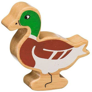 Natural Wooden Brown Duck