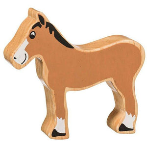 Natural Wooden Brown Foal