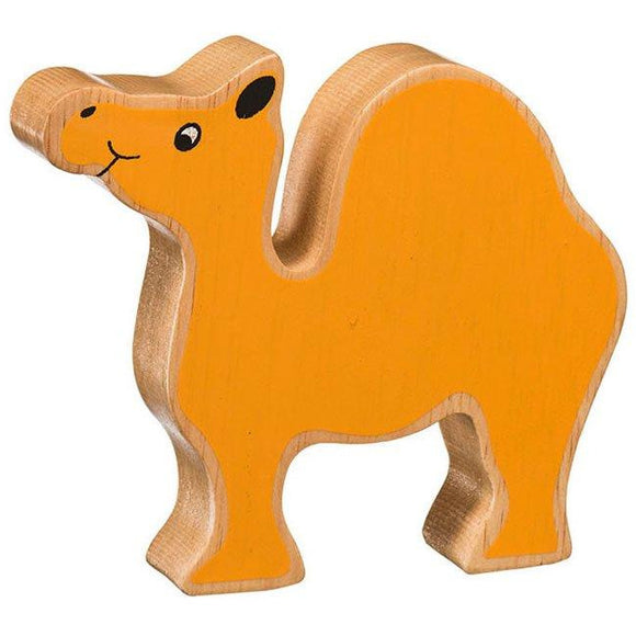 Natural Wooden Yellow Camel