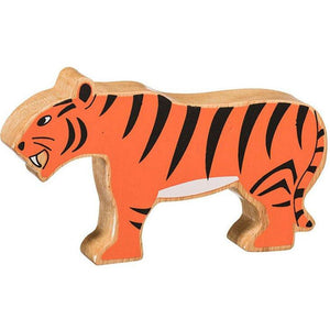 Natural Wooden Orange Tiger