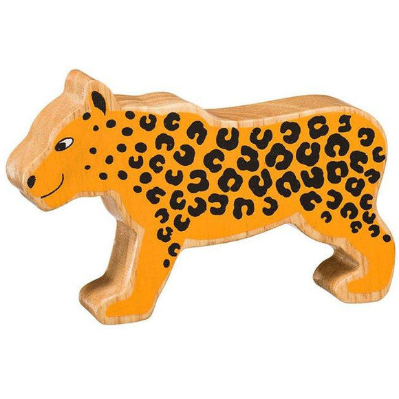 Natural Wooden Yellow Leopard