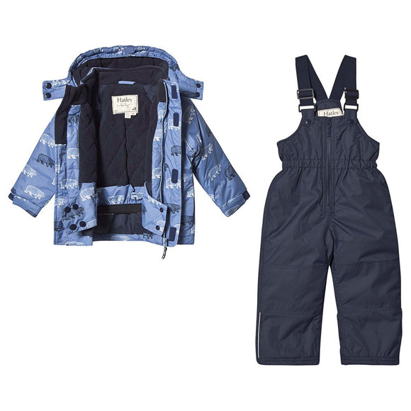 Band of Bears Snowsuit Set