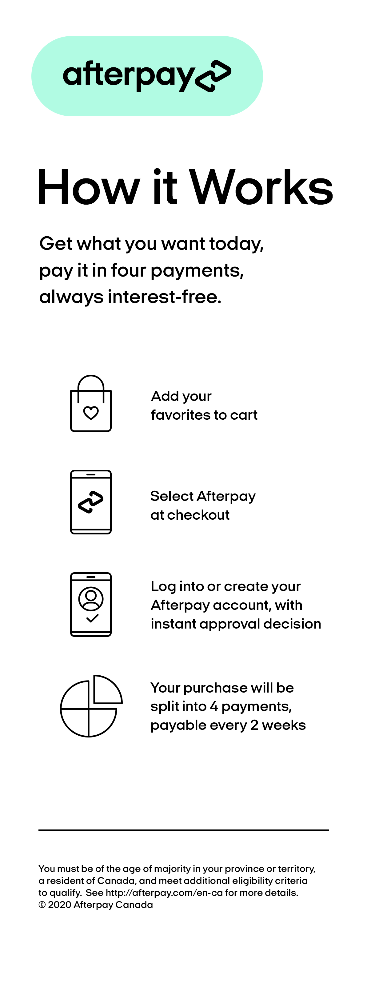 Afterpay - Buy now, Pay later, for mobile
