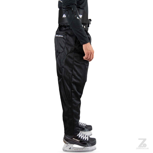 Bauer hockey referee pants padded right
