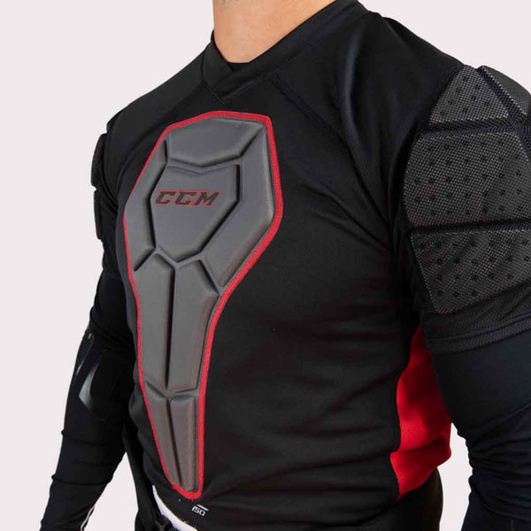 CCM RBZ 150 Hockey Referee Padded shirt close view
