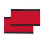CCM red referee armbands