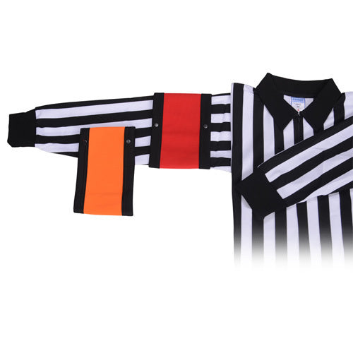 FORCE HOCKEY REFEREE ARMBANDS RED (PAIR)