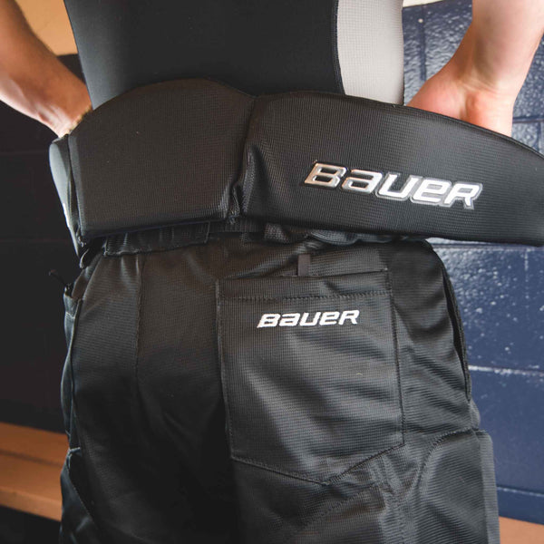Bauer Hockey Referee Pants Integrated Girdle Back