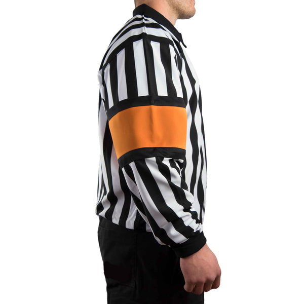 Hockey Referee Shirts Force Pro Orange Armbands Side