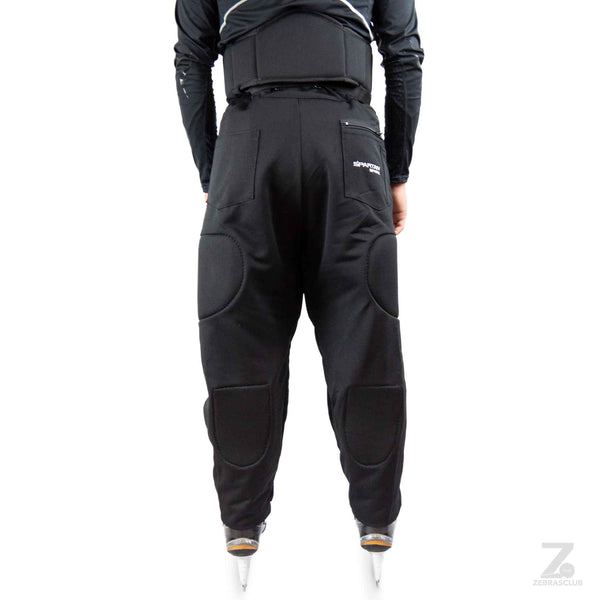 Spartan spark hockey referee pants padded back