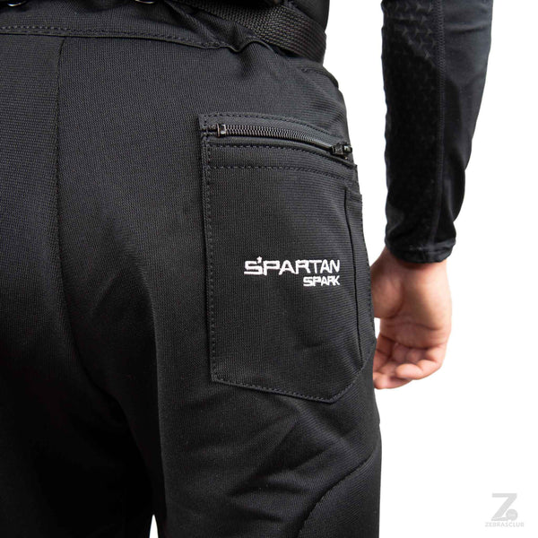 Spartan spark hockey referee pants padded close