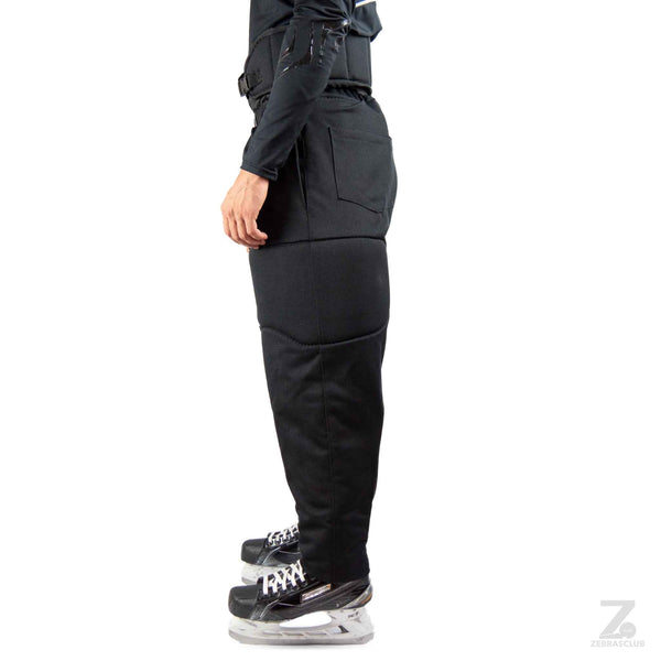 Spartan spark hockey referee pants padded left