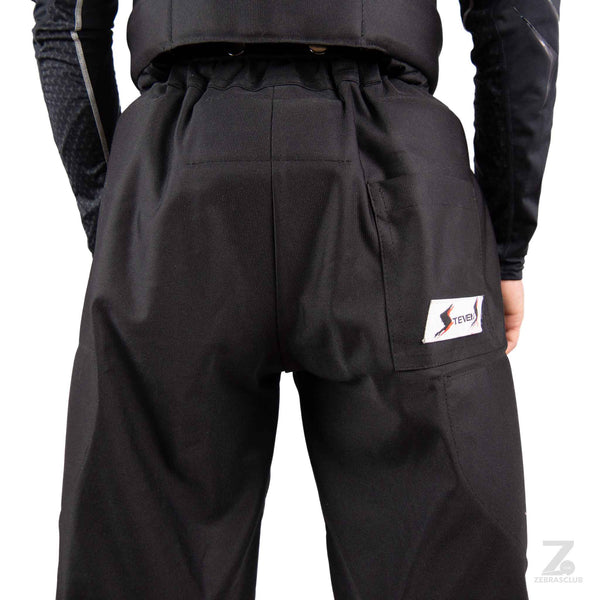 Stevens hockey referee pants padded back close