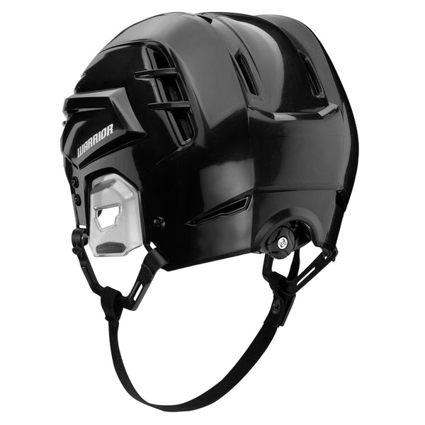 black warrior alpha one pro hockey referee helmet back