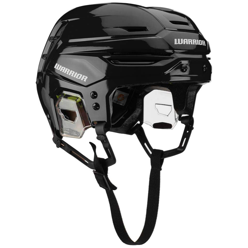 black warrior alpha one pro hockey referee helmet