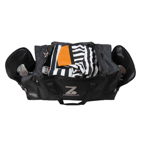 Zebrasclub hockey referee bag equipment