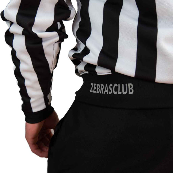 Zebrasclub ZL hockey referee jersey with snaps back logo