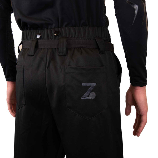 Zebrasclub ZP1 hockey referee pants back logo