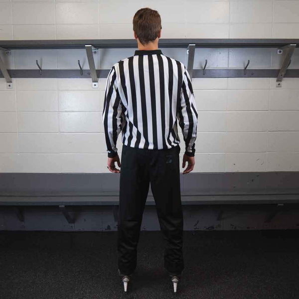 Zebrasclub beginner hockey referee kit back view