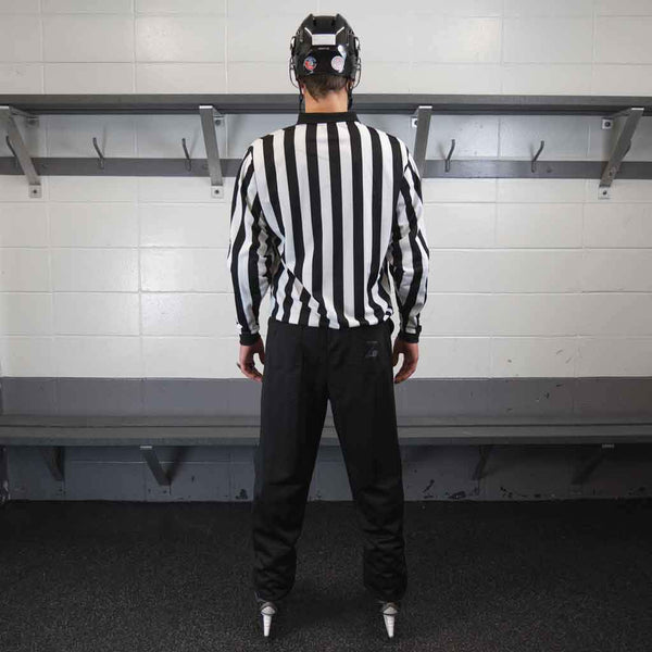 Zebrasclub beginner hockey referee kit plus back view