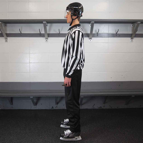 Zebrasclub beginner hockey referee kit plus left view