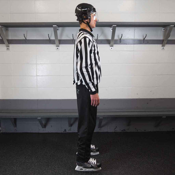 Zebrasclub beginner hockey referee kit plus right view