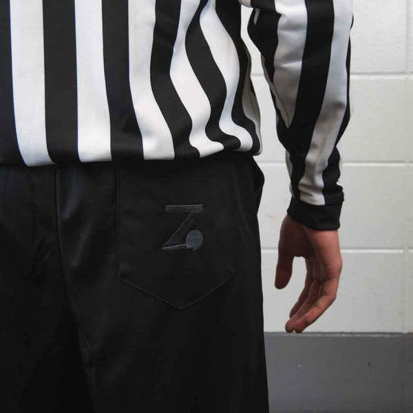 Zebrasclub beginner hockey referee kit pants logo