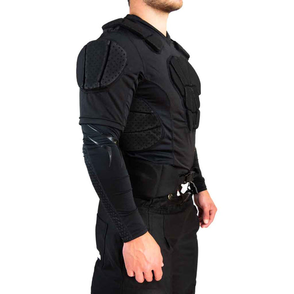 Bauer hockey referee padded shirt right side view