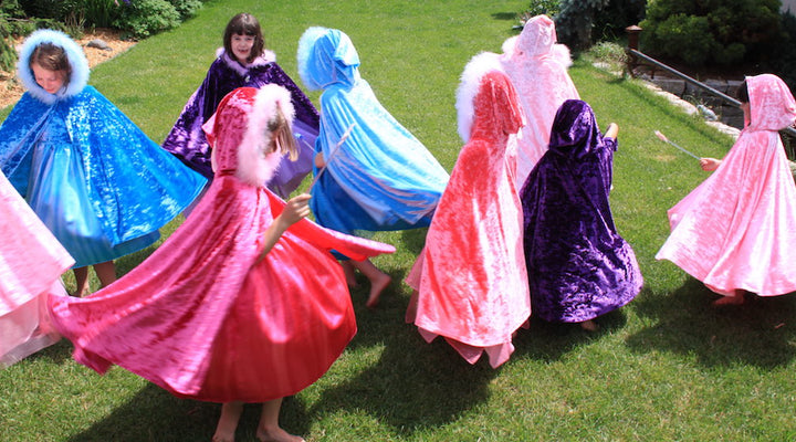 How Capes and Costumes Inspire Imaginative Play