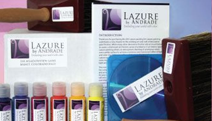 Lazure Painting DIY Kit