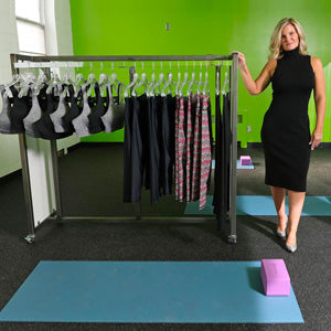Local businesswoman launches new activewear line for women