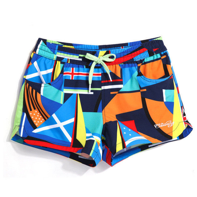 Just Sailing WOMEN'S His/Her Matching Boardshorts