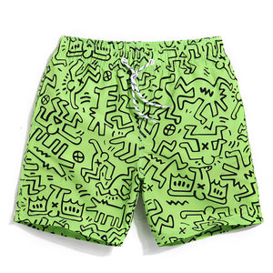 Kicking It Old School Men's Quick Dry Boardshorts