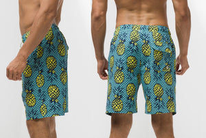 Pineapple Vibe Men's Quick Dry Boardshorts