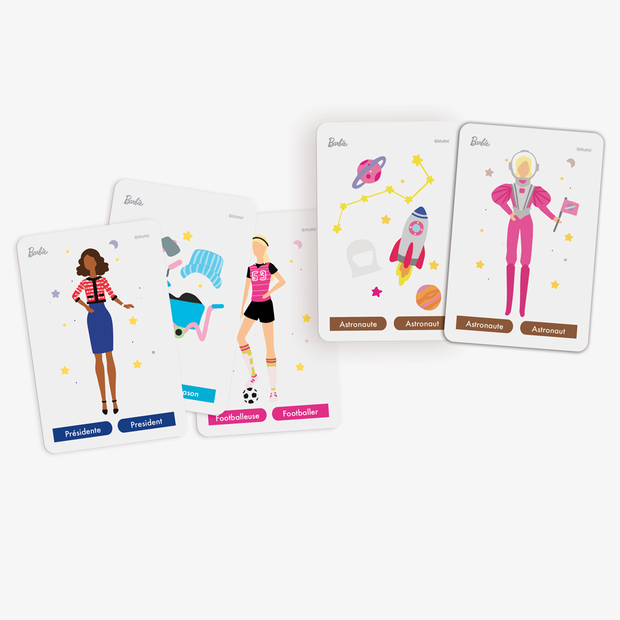 Mistigri Girl Power - BARBIE - Topla - apprendre en s'amusant