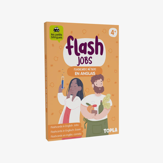 Flash Jobs - Topla - apprendre en s'amusant