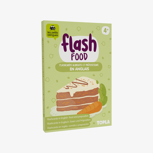 Flash Food - Topla - apprendre en s'amusant