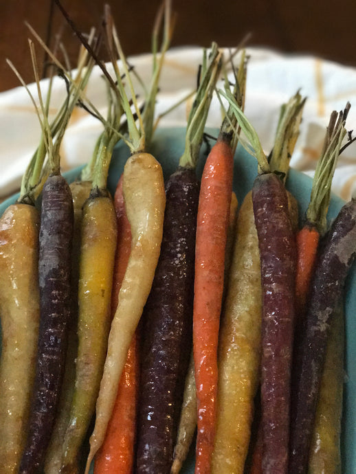 Lemon Pepper Oil Tri-color Carrots