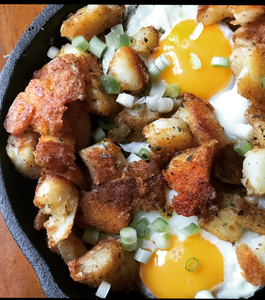 New England Barbecue Breakfast Skillet