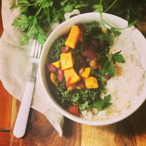 Chili Sweet Potato & Kale Chili