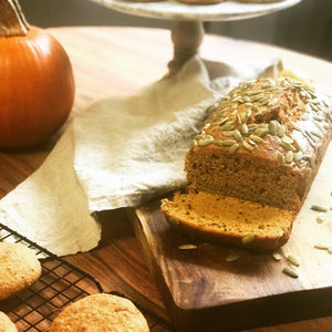 Chai Tea Marmalade Pumpkin Bread