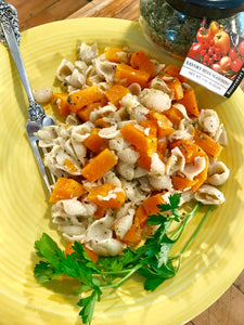 Brown Sage Butter with Butternut Squash and Pasta