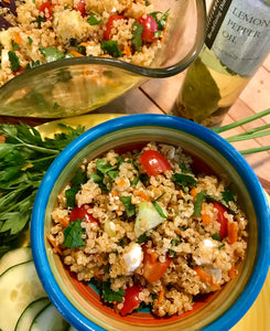 Tantalizing Tabbouleh with Quinoa