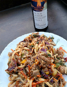 Beef Stir-Fry with Black Pepper Finishing Sauce