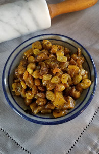 Curried Potato with Raisins