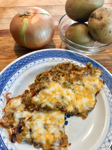 Fabulous Potato Pancakes in a Jiffy