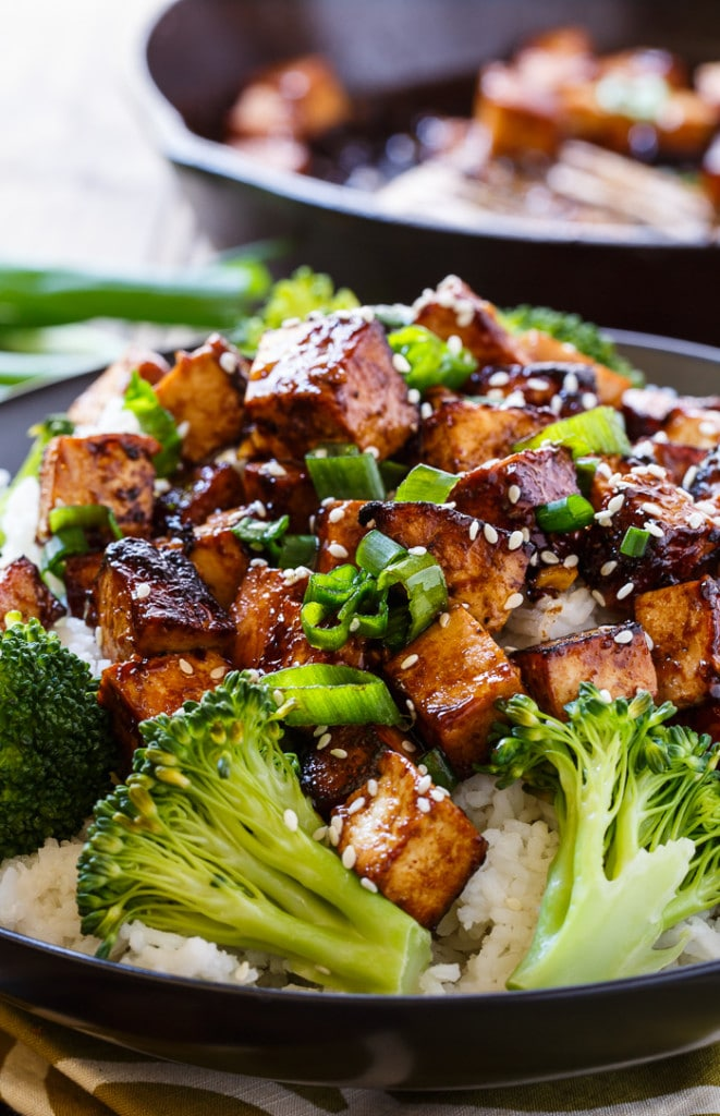Asian Garlic Tofu